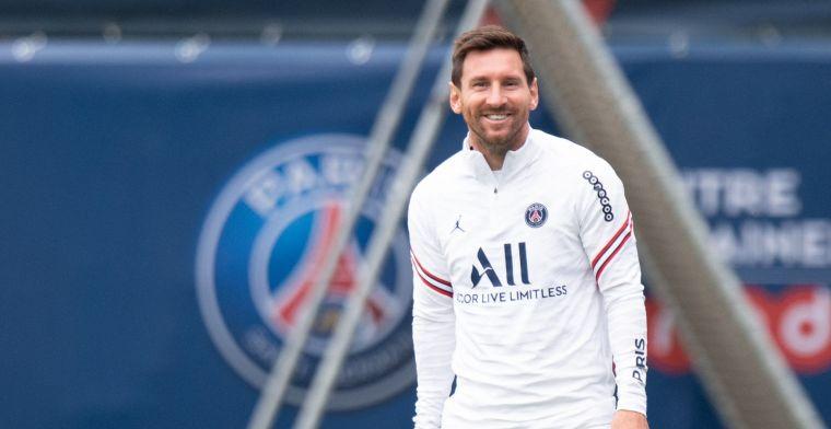 Update: Messi terug in wedstrijdselectie PSG voor kraker tegen Manchester City