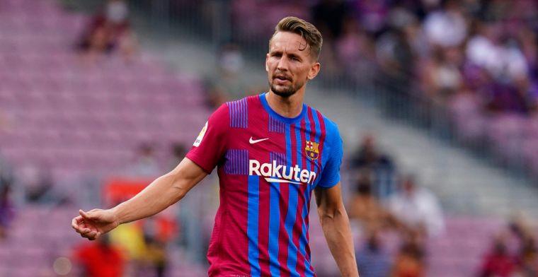 Luuk de Jong blij na 'heel bijzondere' Barça-goal: 'Blij dat ik vertrouwen krijg'