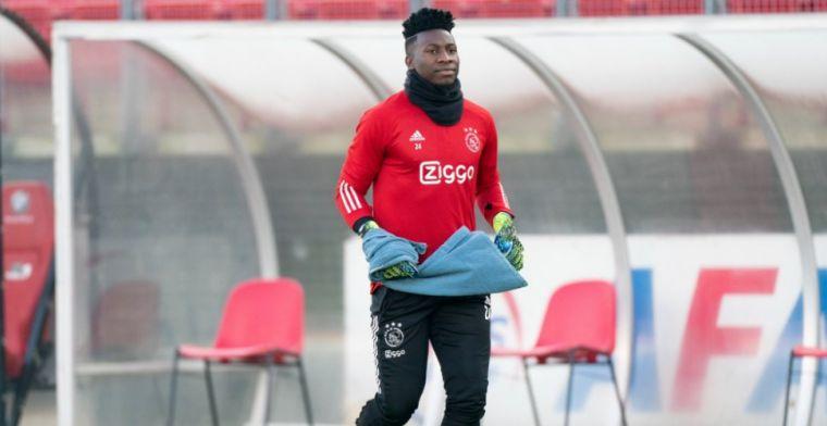 Nog geen akkoord tussen Onana en Inter: 'Hij wil eerst met Ajax om tafel'