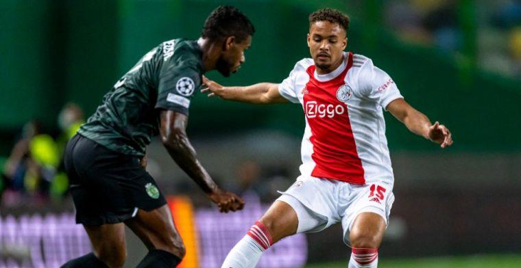 Rensch duikt op bij Jong Ajax, beschikbaarheid tegen Besiktas nog onduidelijk
