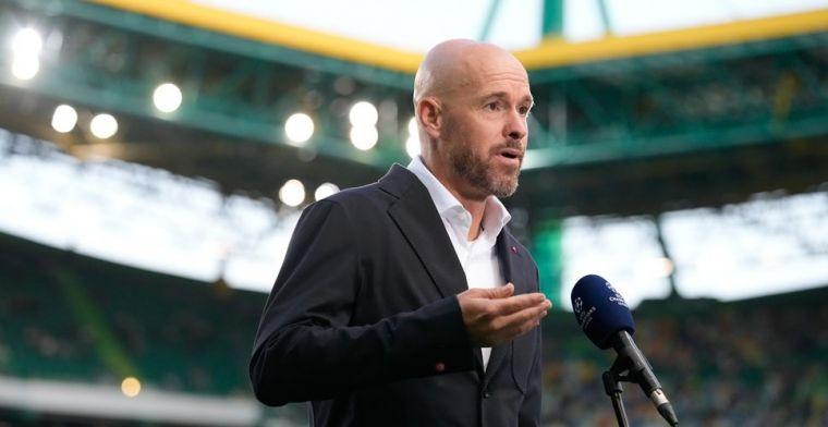 Ten Hag prijst collega's: 'Dan denk ik aan Slot, Jansen, Letsch en Schmidt'