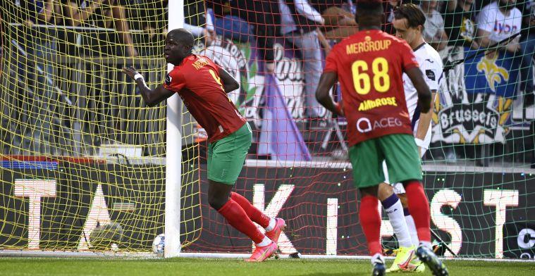 """Gueye tevreden met gelijkspel KV Oostende: """"Anderlecht blijft een grote club"""""""