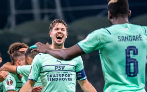 Afbeelding: Oostenrijkers nemen hun verlies: 'PSV is een maatje te groot'