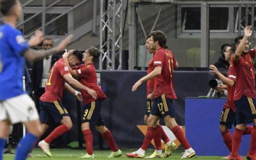 Afbeelding: Imposante reeks Italië na 37 (!) wedstrijden ten einde: Spanje te sterk in Milaan