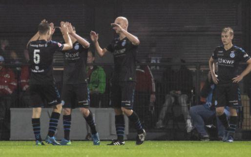 Afbeelding: De Graafschap boekt late overwinning in Almere en staat tweede in KKD