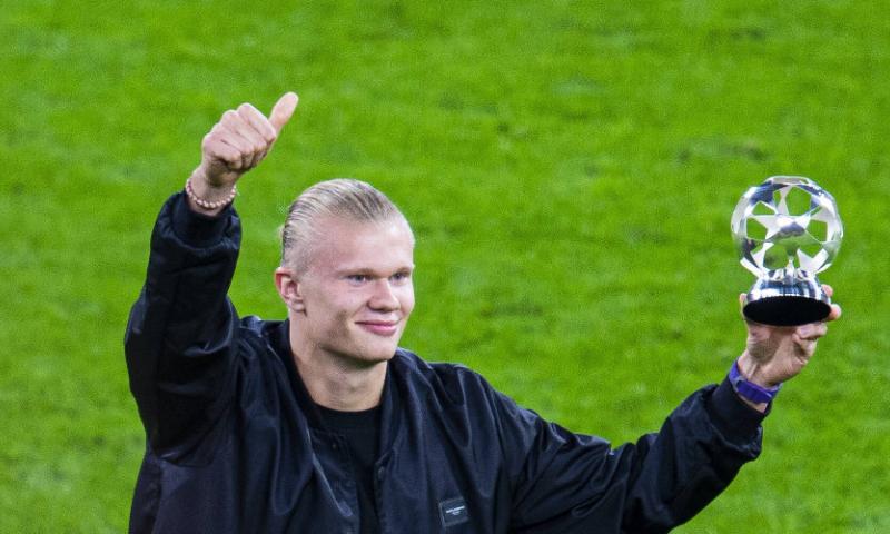 Afbeelding: Haaland draagt omstreden shirt, Noorse bondscoach: 'Had het graag anders gezien'
