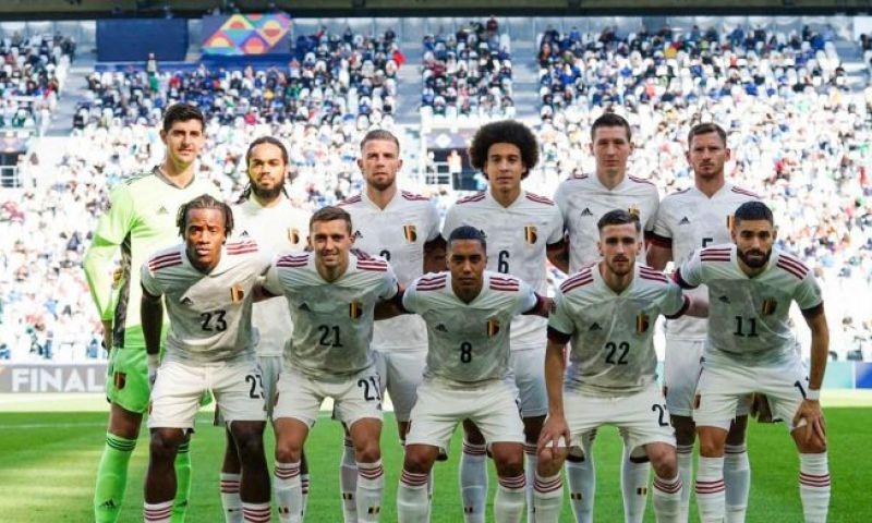 Afbeelding: België verliest 'oefenwedstrijdje' en wordt vierde op de Nations League
