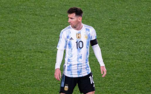 Afbeelding: Messi neemt Argentinië bij de hand, Antony kan remise Brazilië niet voorkomen