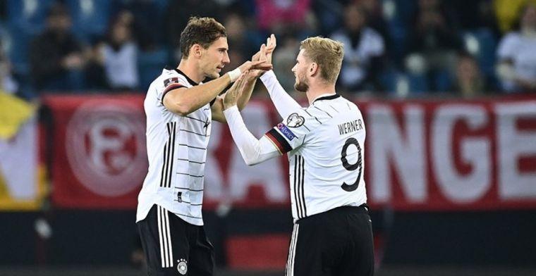 Duitsland pakt eerste Europese ticket, Belgen moeten klus op eigen kracht klaren