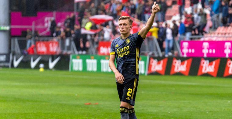 Pedersen over Feyenoord-fans: 'Vinden het leuk, dus waarom zou ik ermee stoppen?'