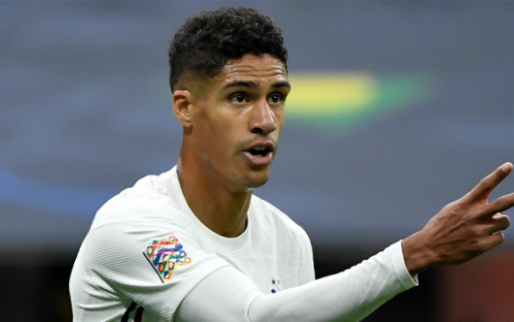 Afbeelding: Manchester United mist Varane in toppers na blessure in Nations League-finale