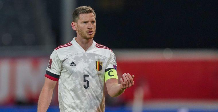 Vertonghen mengt zich in debat: 'Slechtste regel in het voetbal'