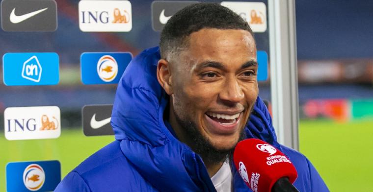 'Ik ben zeker trots dat ik het Nederlands elftal mag vertegenwoordigen'