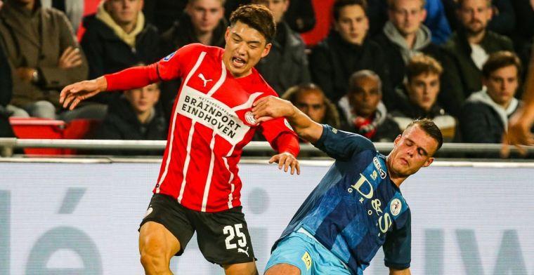 Eindhovens Dagblad: PSV moet streep zetten door 'basisspeler' Doan