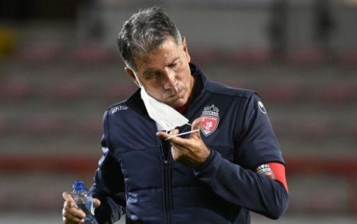 Afbeelding: 'Supporters Moeskroen roepen om ontslag Scifo, trainer bijna op de vuist met fan'