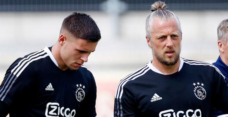 Pasveer vertelt over Gorter bij Ajax: 'Dat vinden ik en Stekelenburg ook wel mooi'