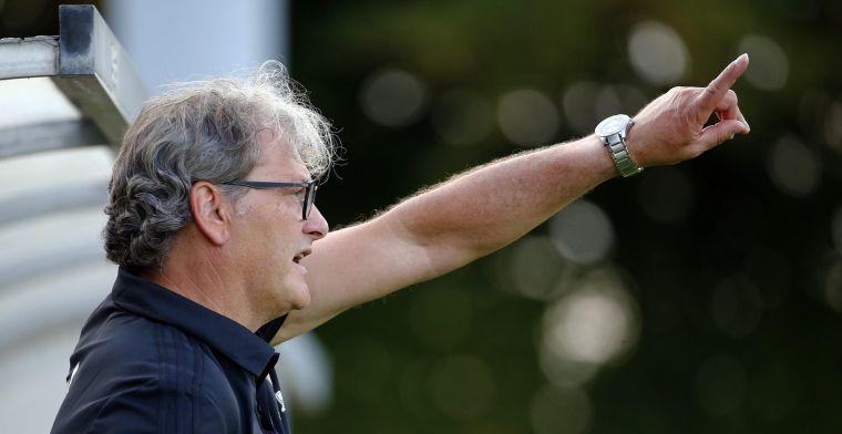 Coach Mathijssen zet beloften met voetjes op de grond: We zijn er nog niet