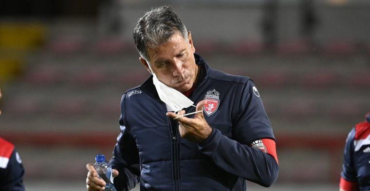 'Supporters Moeskroen roepen om ontslag Scifo, trainer bijna op de vuist met fan'