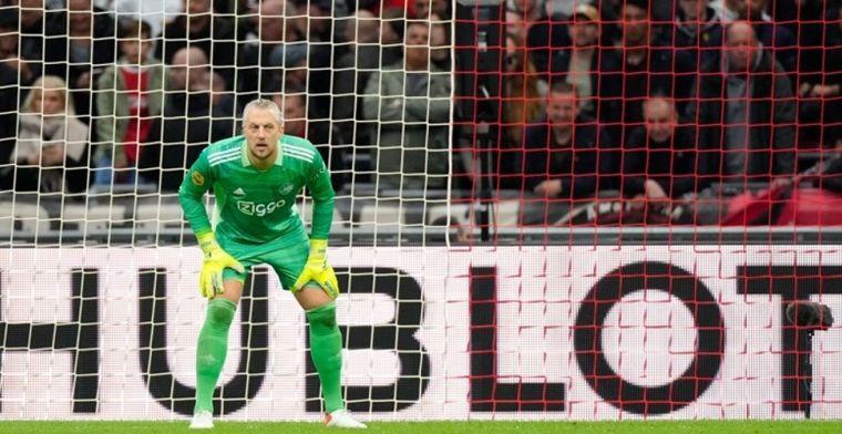 Ajax-keeper Pasveer leert dure les in Lissabon: 'In Sittard bleef ik rustig staan'
