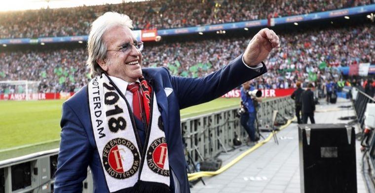 Lee Towers brak in voor kampioenswedstrijd Feyenoord: 'Beenhakker uit zijn plaat'