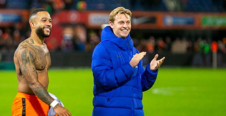 Van der Vaart kritisch op 'waanzinnige' De Jong: 'Dat is het probleem van Frenkie'