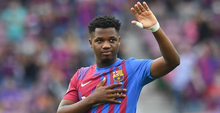 'Barça hoeft ondanks stroeve gesprekken niet te vrezen: supertalent wil verlengen'