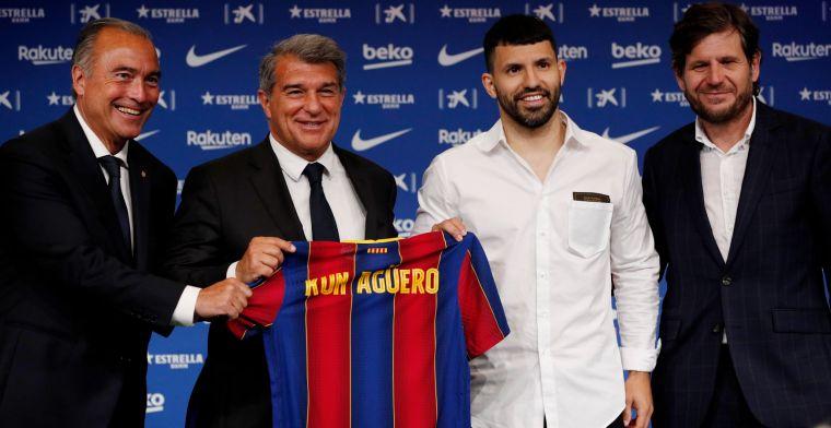 Agüero loopt Messi mis: Ik was in shock, ik kon het niet geloven