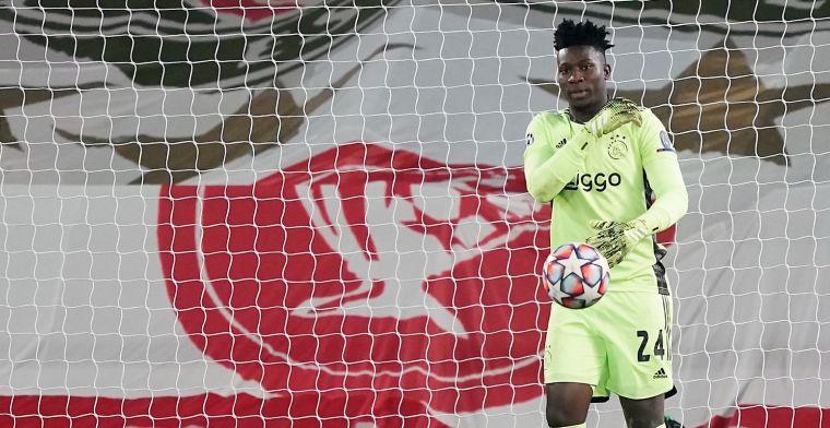 Driessen is zeker van Ajax-exit Onana: 'Ik weet dat hij ergens getekend heeft'