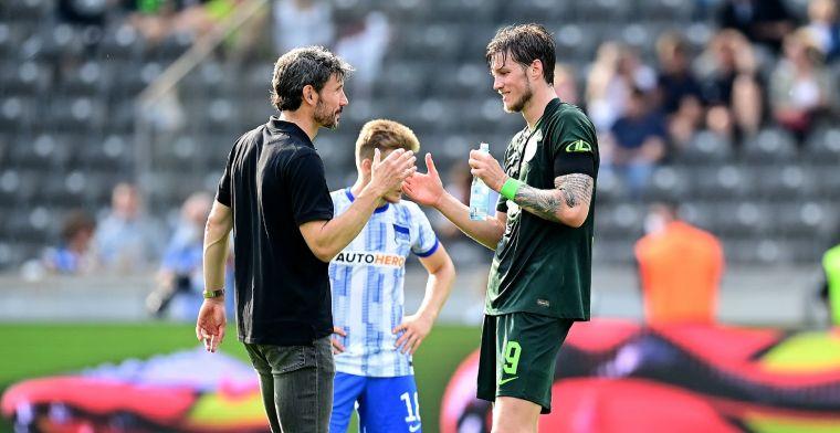 Van Bommel heeft boodschap voor Weghorst: 'We hebben erover gepraat'