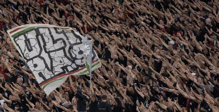 'Hongaarse fans worden voor 2 jaar uit stadions verbannen na rellen op Wembley'