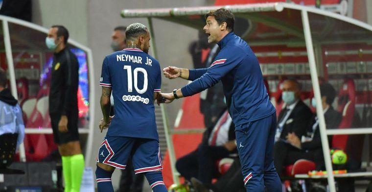 Neymar kan rekenen op steun van trainer Pochettino: 'Daar twijfel ik niet aan'