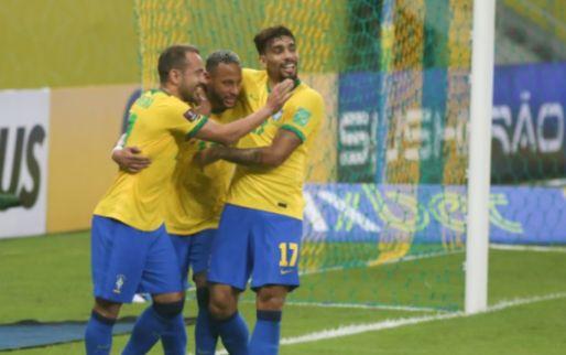 Afbeelding: Argentinië ontsnapt tegen Peru, Brazilië zet Uruguay met grote cijfers te kijk