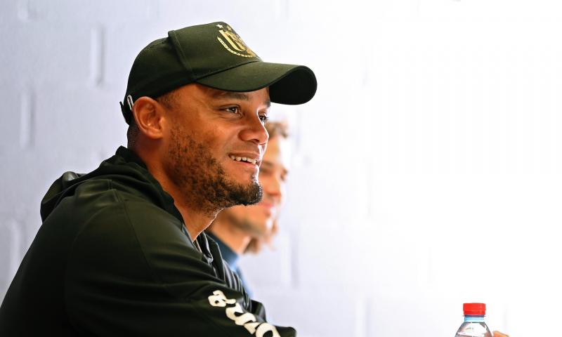 Afbeelding: Kompany (Anderlecht) kreeg geen telefoon van Guardiola over Club Brugge