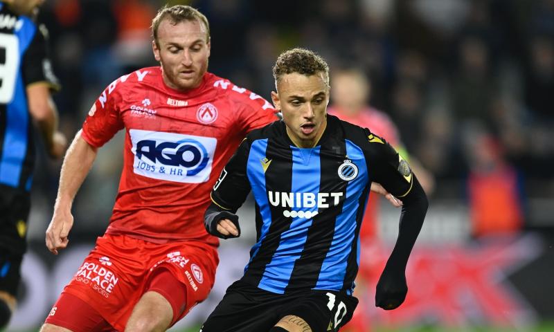 Afbeelding: Club Brugge wint zonder 'top' te zijn tegen strijdvaardig KV Kortrijk