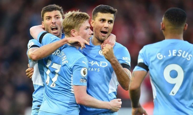 Afbeelding: Gemengde gevoelens in Manchester: City wint probleemloos, United verliest thriller