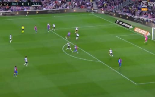 GOAL: Fati toont zich opnieuw bij Barcelona met fantastisch doelpunt