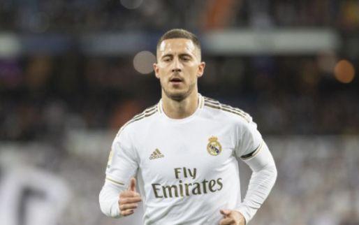 Opnieuw domper voor Hazard: Real Madrid moet Rode Duivel missen