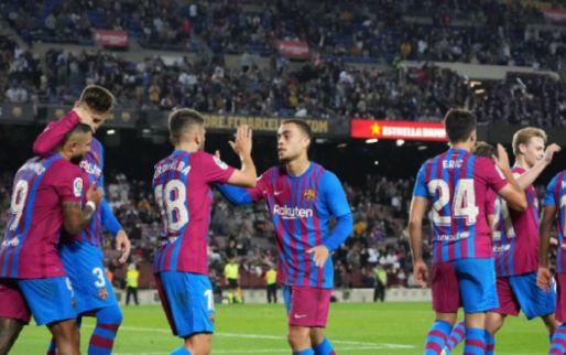 Afbeelding: Fati, Memphis en Coutinho nemen Barcelona bij de hand tegen Valencia