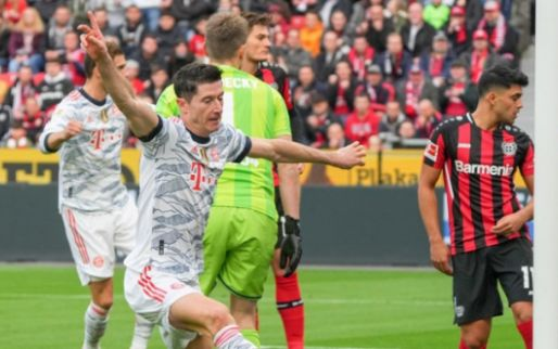 Afbeelding: Bayern maakt er voor rust al vijf tegen Bayer en zet nummer 3 op zijn plek