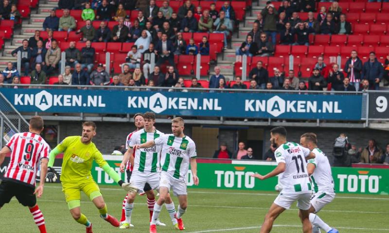 Afbeelding: FC Groningen speelt niets klaar en komt met punt tegen Sparta goed weg