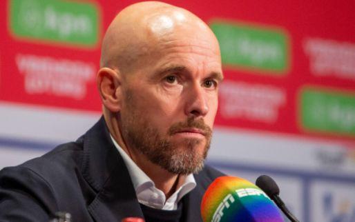 Ten Hag ziet 'drie groepen' ontstaan bij Ajax: 'Het is een verloren periode'