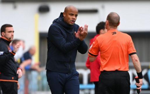 'Kompany komt na nieuw puntenverlies stevig onder druk te staan bij Anderlecht'
