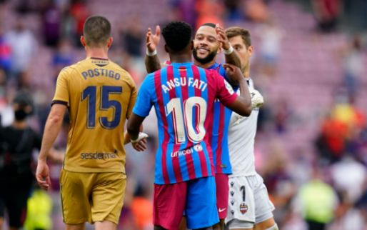 Koeman vol lof over Memphis en grote Barça-uitblinker: 'Dat is Ansu Fati'