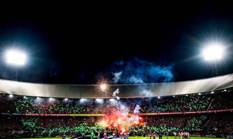 Afbeelding: UEFA haalt streep door Feyenoord-sfeeractie: 'Vinden we een belachelijk besluit'