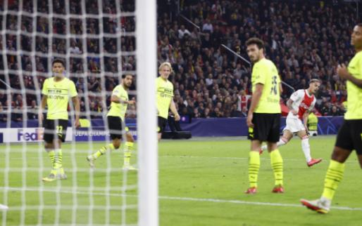 LIVE: Ajax vernedert Borussia Dortmund in eigen huis: 4-0 (gesloten)