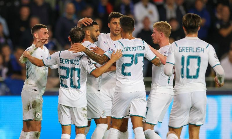 Afbeelding: Dodelijk Manchester City maakt Club Brugge een kopje kleiner