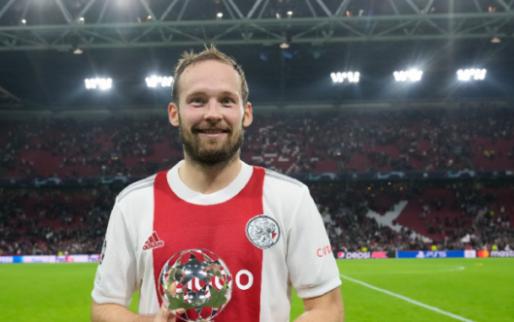 Blind krijgt fraaie prijs van UEFA na glansrol voor Ajax tegen Borussia Dortmund