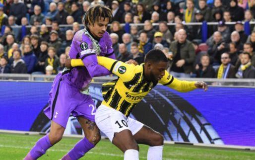 Bazoer lacht na Vitesse-stunt: 'Denk dat Kane en Son dan wel van de partij zijn'
