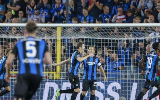 Club Brugge creëert het meeste grote kansen, STVV krijgt er het minste tegen