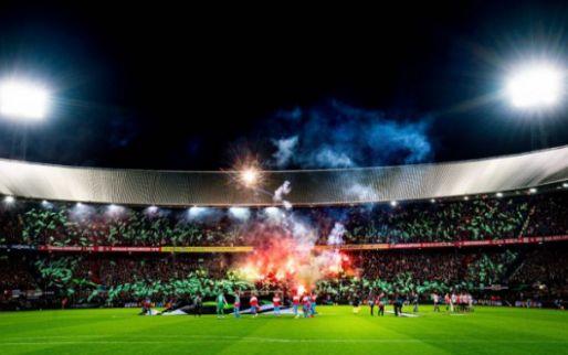 Feyenoord-fans belagen voorzitter van Union: 'In je eigen stad, niet netjes toch?'
